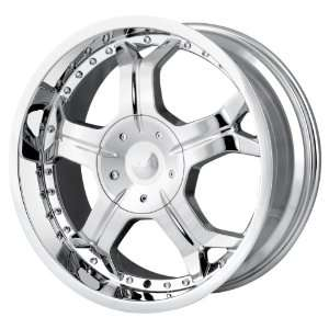 Ion Alloy 191 Chrome Wheel (17x8/5x139.7mm) Automotive