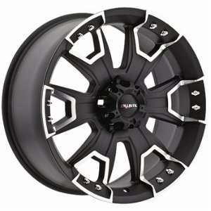 Ballistic Havoc 20x9 Black Wheel / Rim 6x135 with a 12mm Offset and a