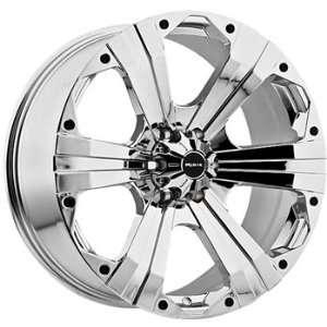Ballistic Outlaw 22x9.5 Chrome Wheel / Rim 8x170 with a  12mm Offset