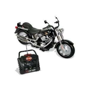 Radio Control Harley Davidson Fat Boy Motorcycle, 27 MHz 6