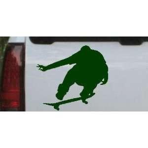 Skate Boarding Sports Car Window Wall Laptop Decal Sticker Automotive