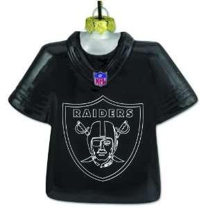 Oakland Raiders Team Laser Jersey (Logo) Ornament Sports