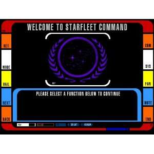 Star Trek> Command Panel # 1 Mousepad: Everything Else
