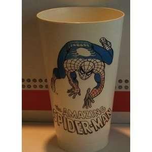 Marvel Comics Spider Man 7 11 Plastic Cup (Faded)