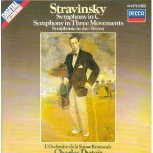 Igor Stravinsky Symphony in C / Symphony in Three Movements