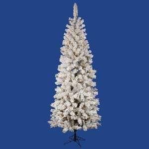 Foot Flocked Pacific DuraLit Christmas Tree