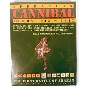 Avalanche Press Operation Cannibal Burma 1942 1943