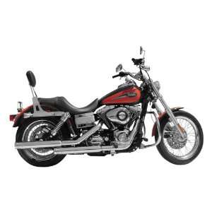 Rush Slip On Mufflers, Tip Compatible for 1995 2011 Harley