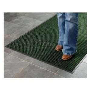 Deep Cleaning Ribbed 4 Foot Wide Roll Mat Green