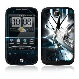 HTC WildFire Skin Decal Sticker   Abstract Tech City