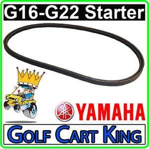 Yamaha G16,G20,G21,G22 Golf Cart Starter Generator Belt