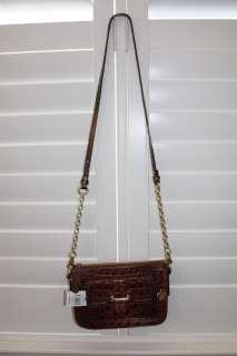 Brahmin Molly Shoulder Crossbody Bag (Color Truffle OR Pecan)