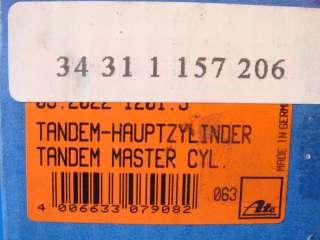 BMW E30 318i 325 325i M20 ATE BRAKE MASTER CYLINDER NEW