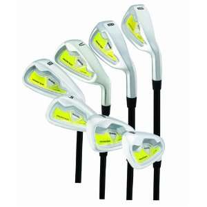 Young Gun SGS Junior Iron Set 5 SW YELLOW Ages 3 5 RH