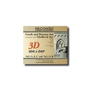 RECON3D Vol.2 Medieval Art, 3D Content Collection (3DS