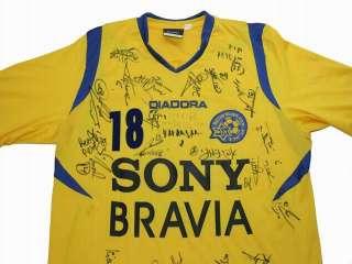Authentic Maccabi Tel Aviv Signed Football Soccer Player Shirt Jersey