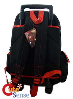 Marvel Iron Man 16 Large Roller School Backpack/Bag