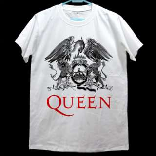 Freddie Mercury QUEEN CREST Best Rock T shirt Size M