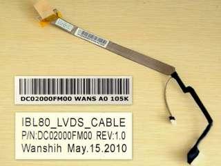 hp Compaq Presario C700 G7000 notebook laptop LCD cable DC02000FM00