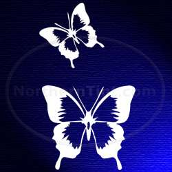 Butterfly vinyl wall art car truck decal sticker 033