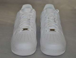 NIKE AF Air Force 1 07 Basketball/Casual Shoes White Leather New NIB$
