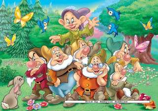 picture 1 of Ravensburger 20 pieces jigsaw puzzle Disney   The seven