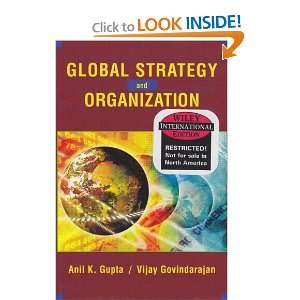 Organization (9780471454229): Anil K. Gupta, Vijay Govindarajan: Books