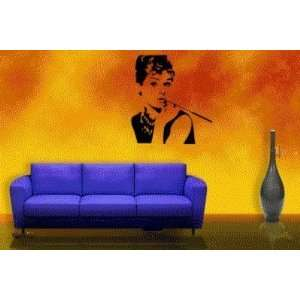 Audrey Hepburn Breakfast At Tiffanys Vinyl Wall Decal Sticker Graphic
