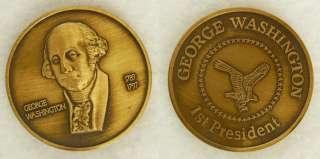 MedalGeorge Washington First President