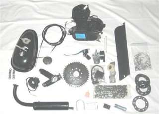 80cc BICYCLE motorized ENGINE KIT gas motor bike BLACK Z2 80BK