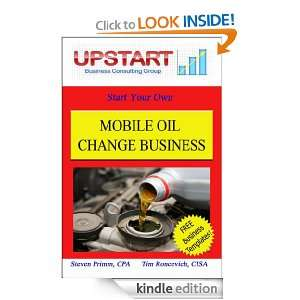 Mobile Oil Change Business Tim Roncevich and Steven Primm