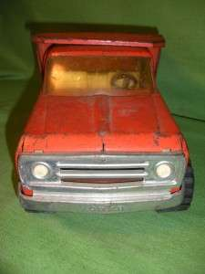 Vintage Tonka Orange Dump Truck XR 101 13190