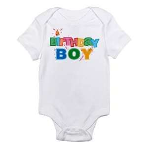 Birthday Boy Cotton Baby Onesie Shirt   Size 3 6 Months: Baby
