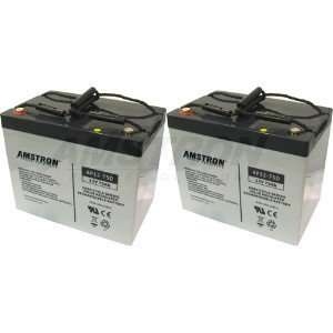 Amstron AP12 75D Deep Cycle Batteries (2 Pk) Electronics