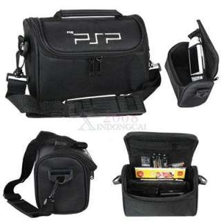 Black Travel Carry Bag Case for PSP 1000 2000 3000 NEW