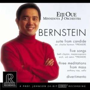 Bernstein Suite from Candide; Five Songs; Three