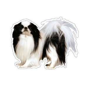 JAPANESE CHIN   Dog Decal  sticker car got dogs graphic
