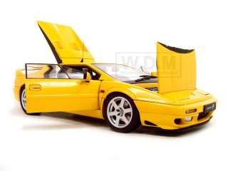 LOTUS ESPRIT V8 YELLOW 1 18 AUTOART DIECAST MODEL