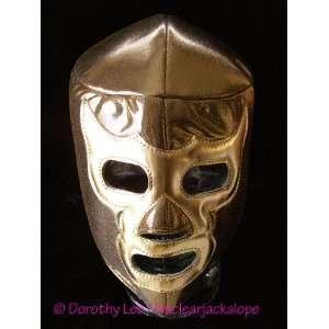 Lucha Libre Wrestling Halloween Mask Ramses gold