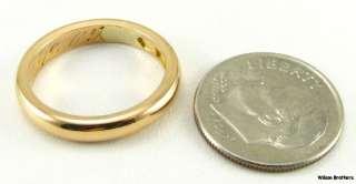 1905 Antique Ladies WEDDING BAND   20k Yellow Gold Ring