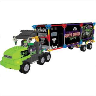 NEX Monster Jam Grave Digger Transporter Rig Building Set 57124