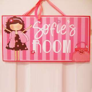 PERSONALIZED Kids Room Door Sign IN THE ARMY   COMMAND POST Cute Wall