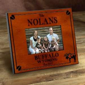 Favors Personalized Cabin Series Moose Picture Frame: Everything Else