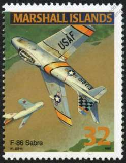 USAF North American Aviation F 86 SABRE/SABREJET Jet Aircraft Mint