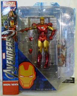 MAN The Avengers Movie Marvel Select 7 inch Action Figure 2012