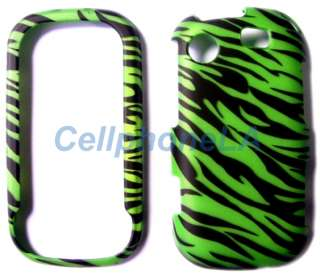 For Samsung Messenger Touch R630 Green Zebra Case Cover
