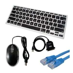 SKQUE PREMIUM OPTICAL MICE MOUSE+BLACK SILICONE KEYBOARD