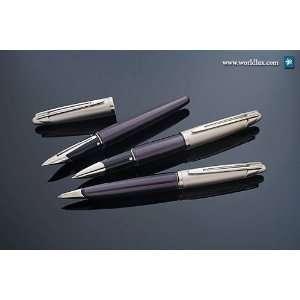 Waterman Edson Diamond Black Rollerball Pen   1737118