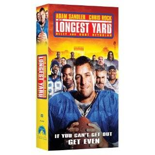 The Longest Yard [VHS] ~ Adam Sandler and Nelly ( VHS Tape   Apr
