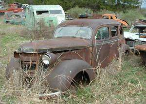 1937 Chrysler Royal Mopar 4dr sedan rat hot rod project